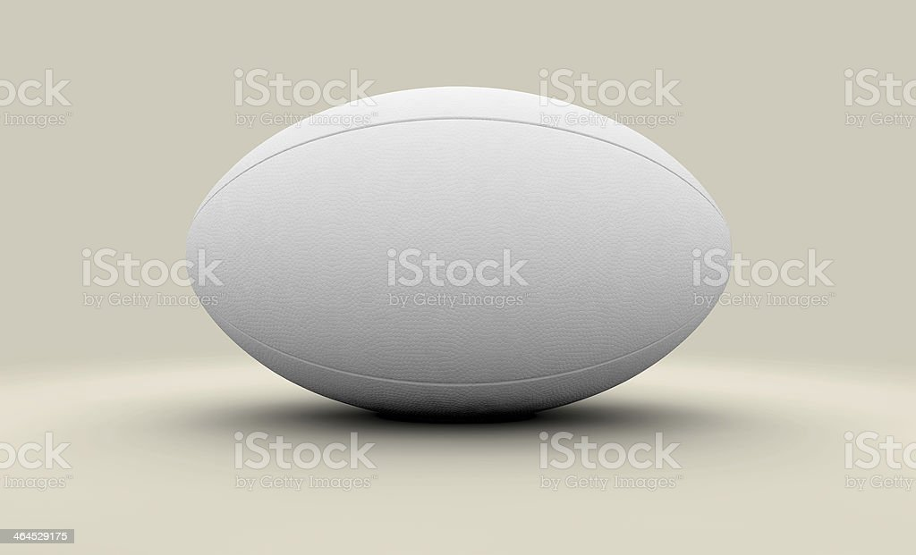 Rugby Ball Isolated stock photo