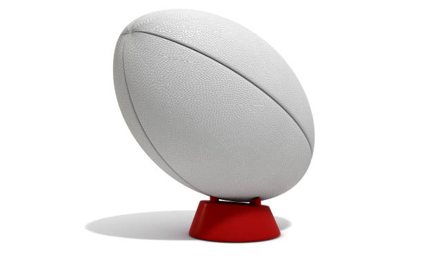rugby ball - rugby ball stock photos and pictures