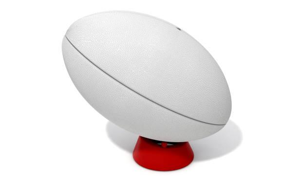 Pelota de rugby - foto de stock