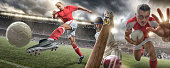 istock Rugby, Cricket and Football Action 525217573