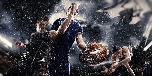 rugby im regen - rugby stock-fotos und bilder