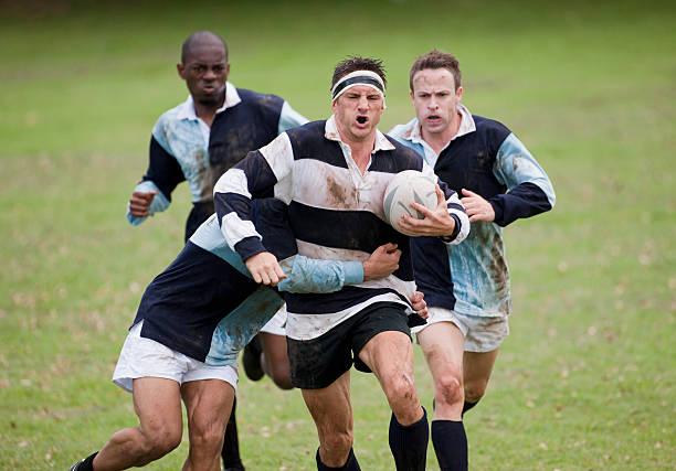 Rugby-Spiel – Foto