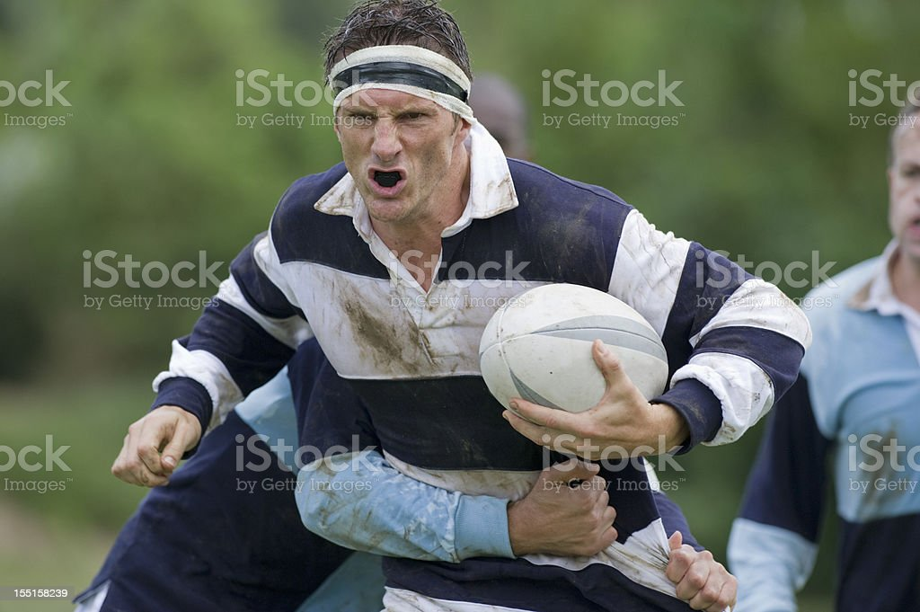 Rugby Match stock photo