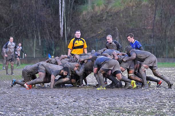Meczu Rugby. – zdjęcie