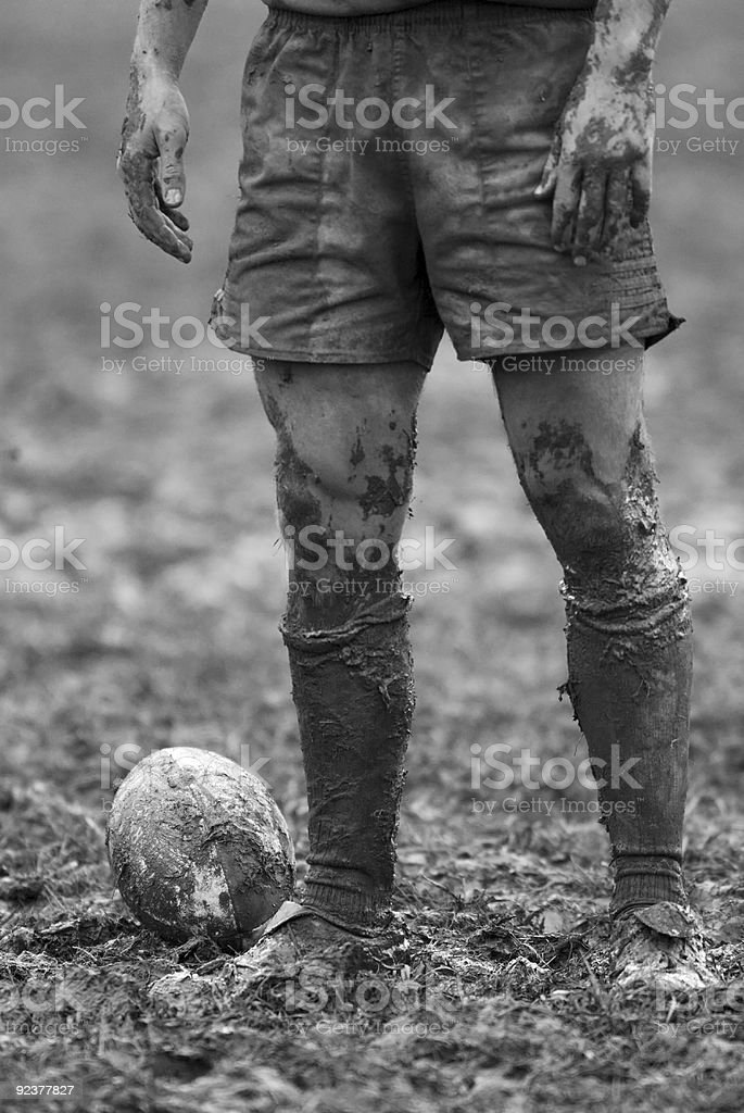 Rugby Mud Bowl royalty-free stock photo