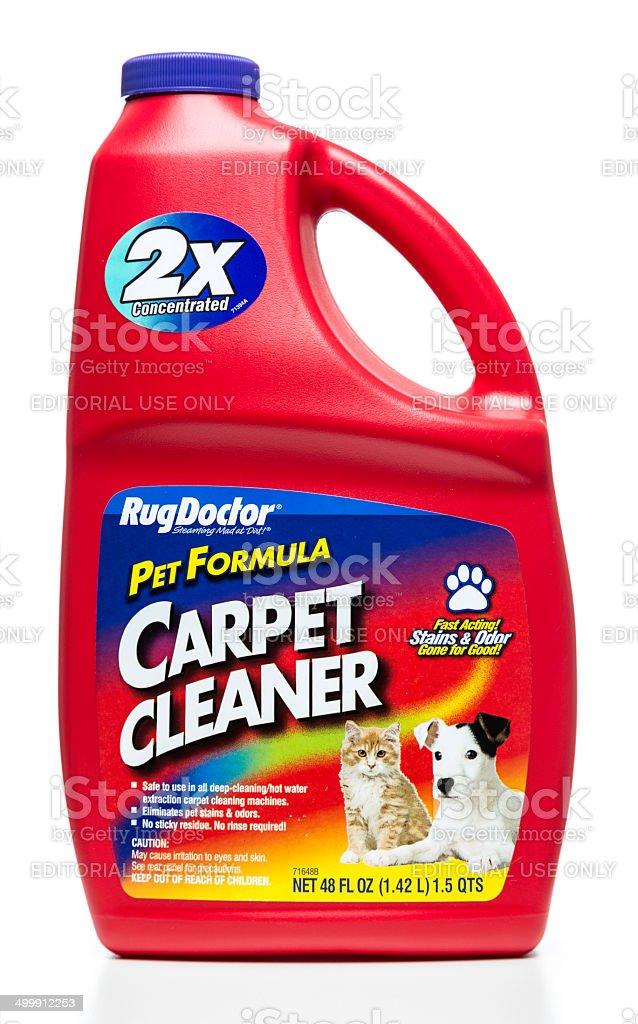 Rugdoctor Pet Formula Carpet Cleaner Bottle Stock Photo & More