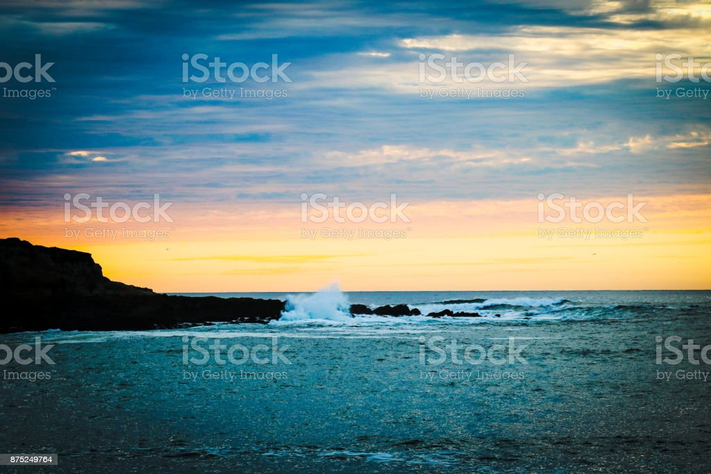 Rugged Central Coast stock photo