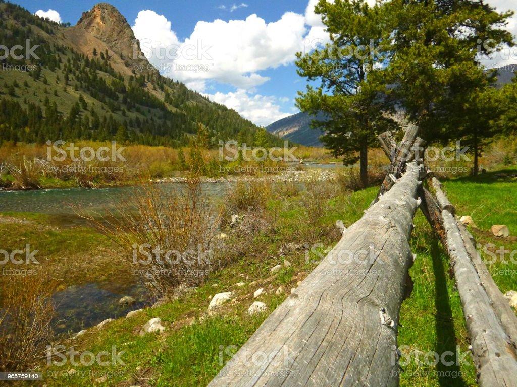 Rugged Central Idaho - Royalty-free Boulder - Rock Stock Photo
