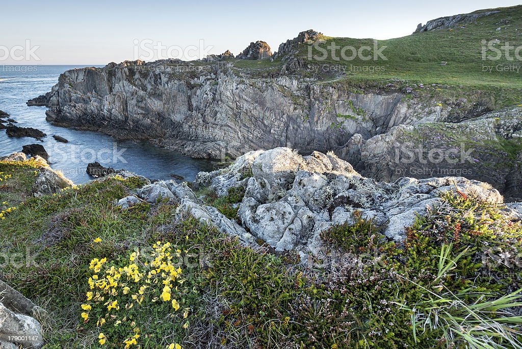 Rugged coastline in Ireland royalty-free stock photo