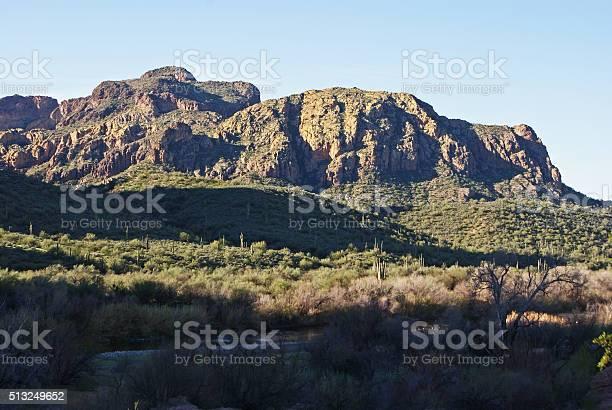 Rugged landscape.