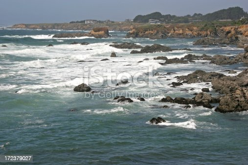 Northern California at Fort Bragg in Mendocino County