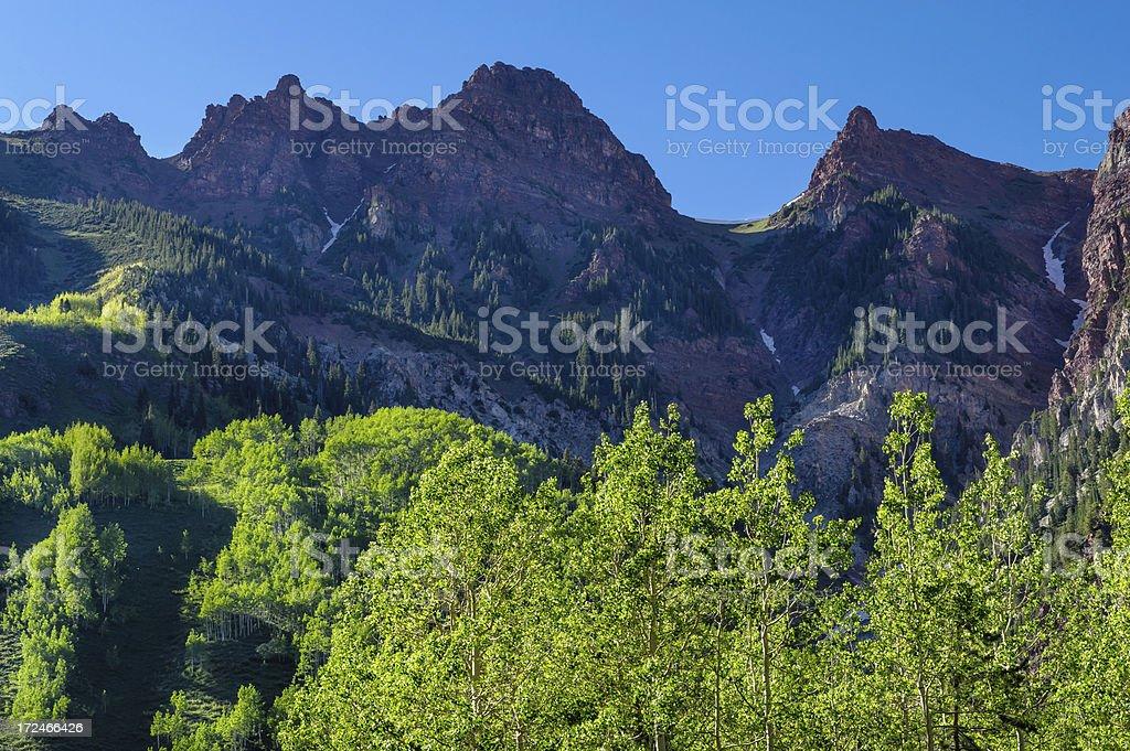 Rugged Mountain Ridgeline royalty-free stock photo