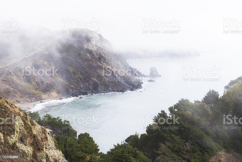 Rugged Northern California Coast royalty-free stock photo