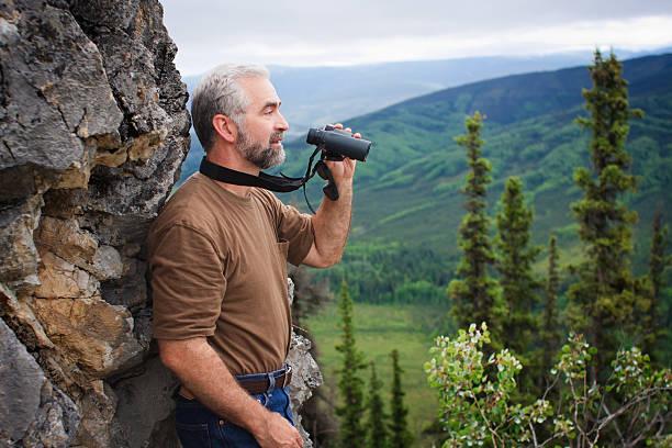 rugged terrain stock photo