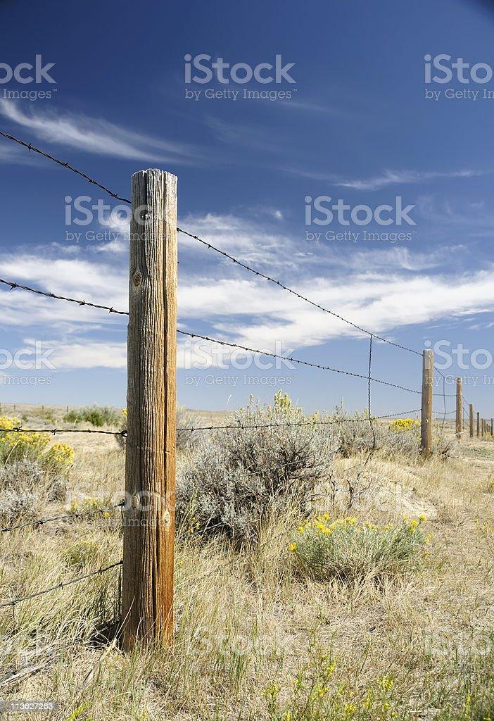 Rugged Wyoming royalty-free stock photo