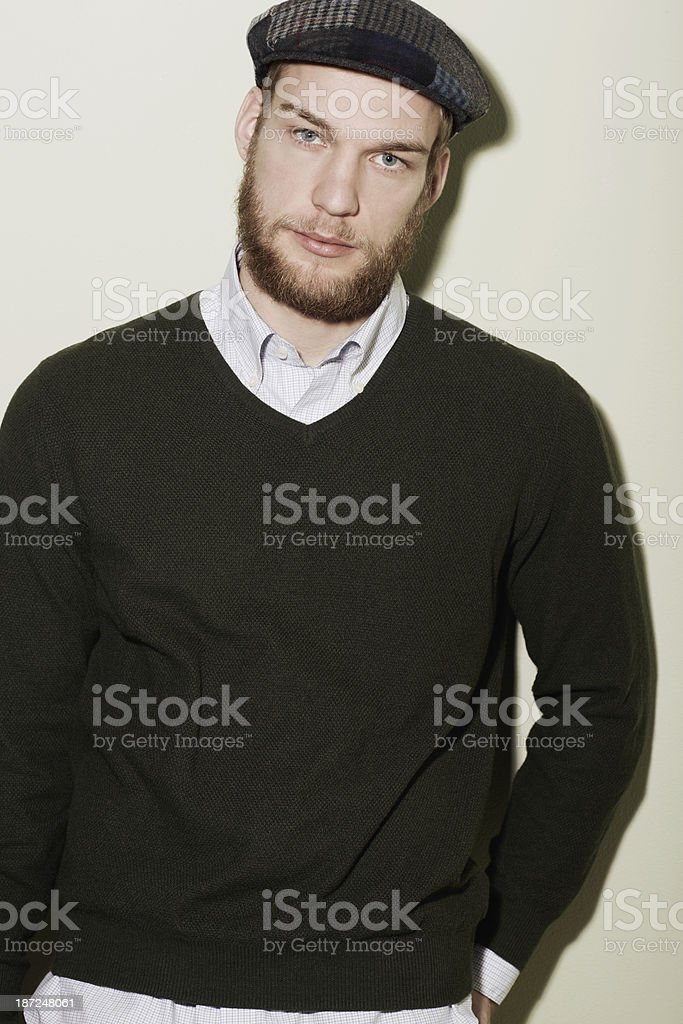 Ruggedly handsome royalty-free stock photo