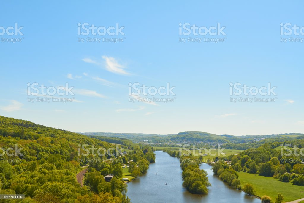 Ruhr area stock photo