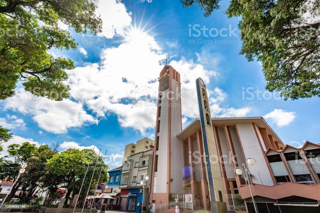 BAURU, são PAULO/Brasil - 29 de dezembro de 2018: Casa de Rui Barbosa na cidade de Bauru. A cidade está localizada no interior do estado de São Paulo - foto de acervo