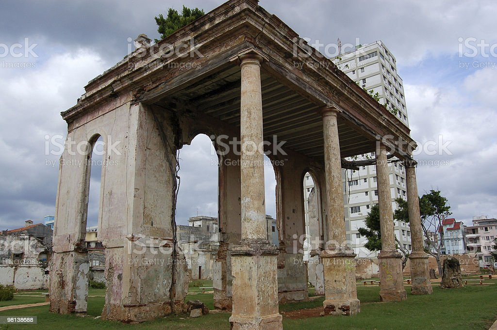 Rovina, Havana foto stock royalty-free