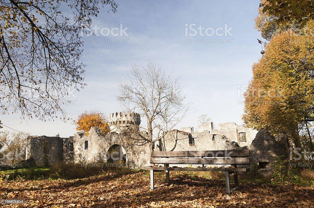 Ruin Honberg Tuttlingen Germany Stock Photo - Download Image