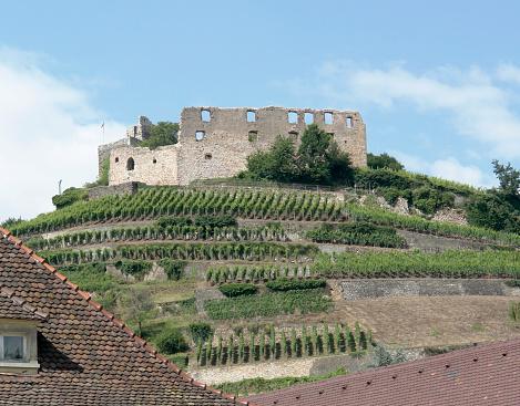 ruin near Staufen