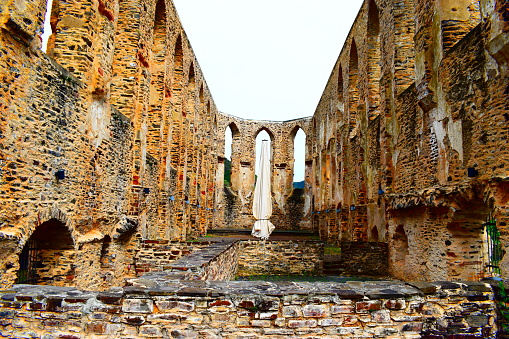 ruin of ancient abby