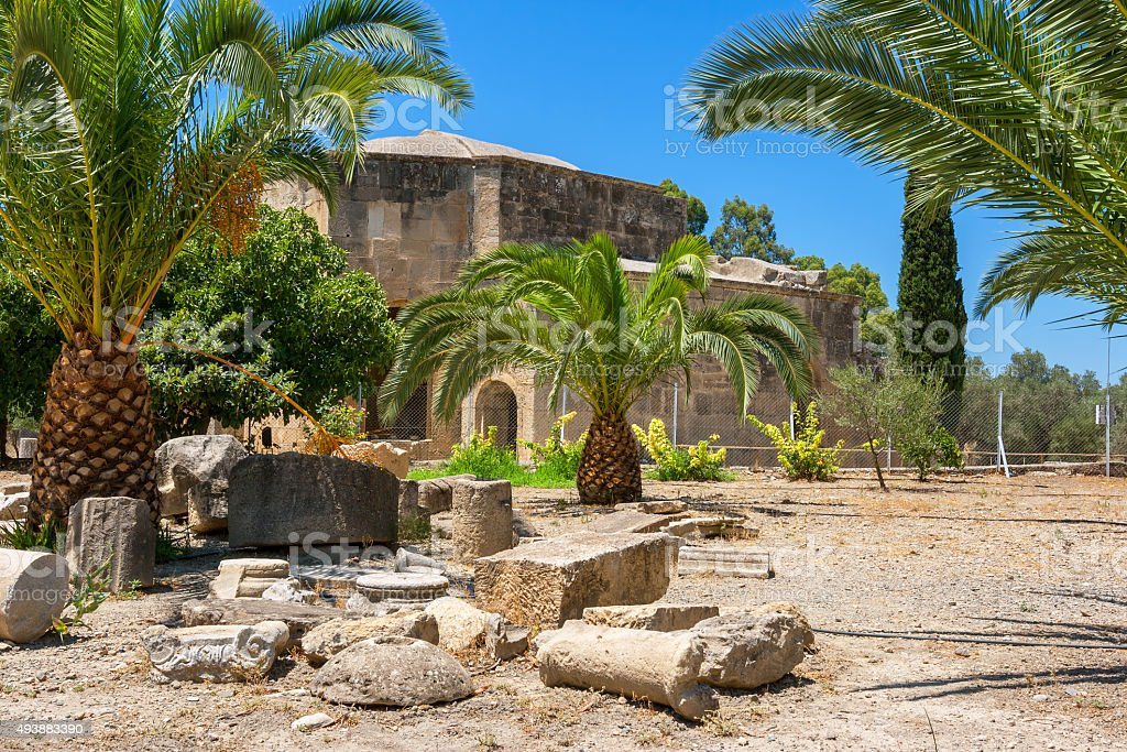 Ruin of Gortyn. Crete, Greece stock photo