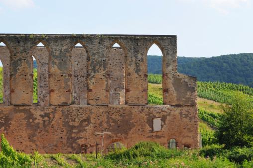 ruin of monastery Stuben Bremm Calmont Region (Mosel Valley)