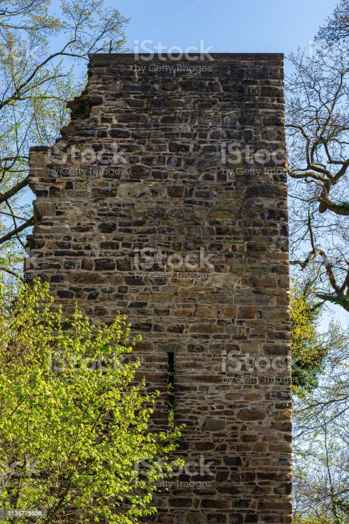 Ruine des Kattentower im Süden von Essen – Foto