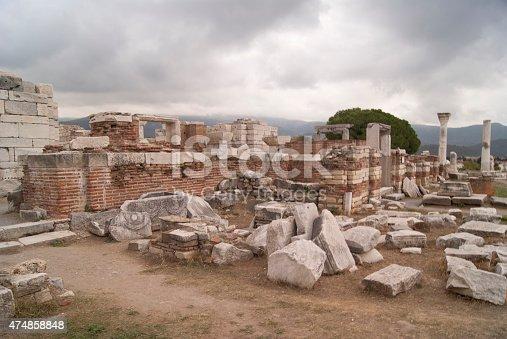 istock Ruined altar 474858848