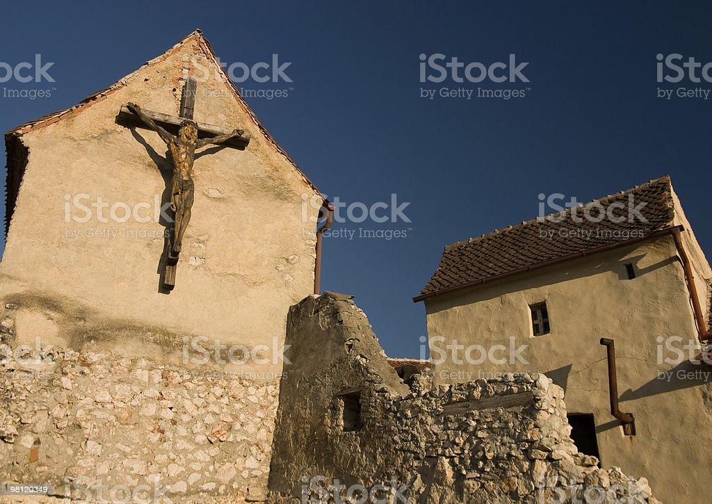 Ruined Chapel royalty-free stock photo