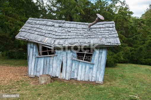istock Ruined Shed 538509975