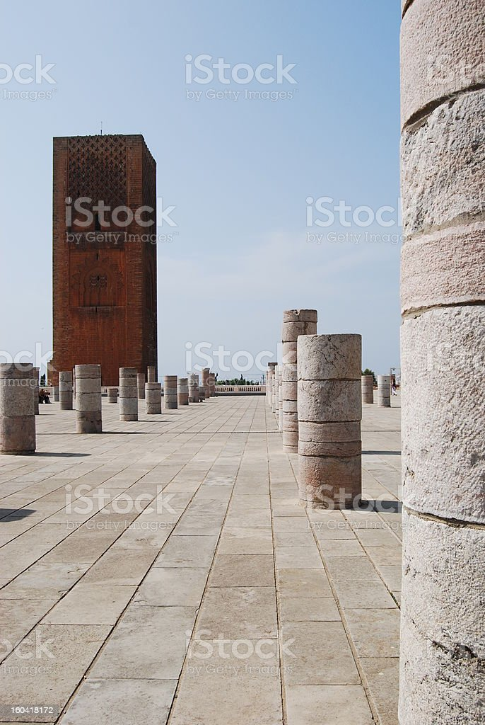 Ruined Temple royalty-free stock photo