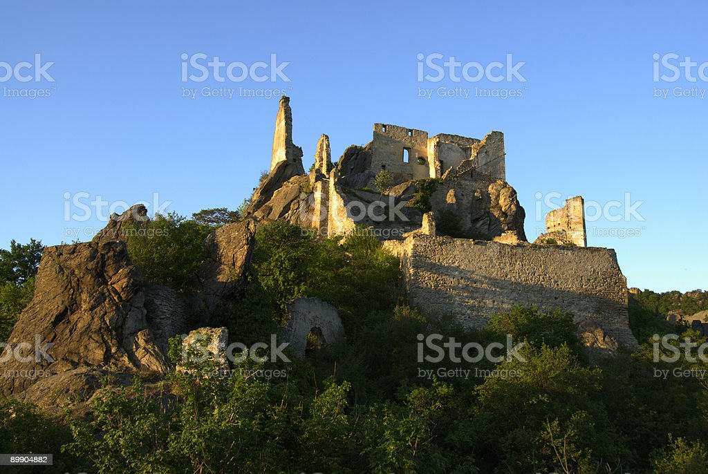 ruineduernstein royalty-free stock photo