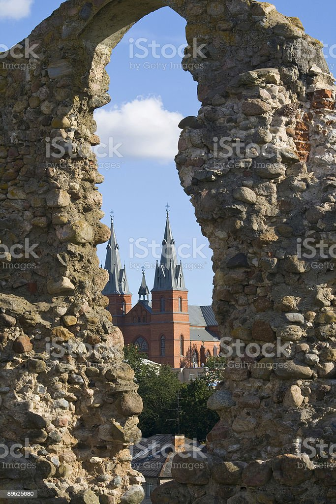 Ruins 01 royalty-free stock photo