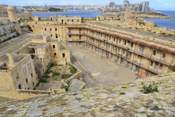 Ruinen von Fort St Elmo in Malta. – Foto