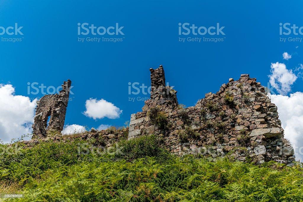 ruins  in Corsica along the GR20 route - 2 royaltyfri bildbanksbilder