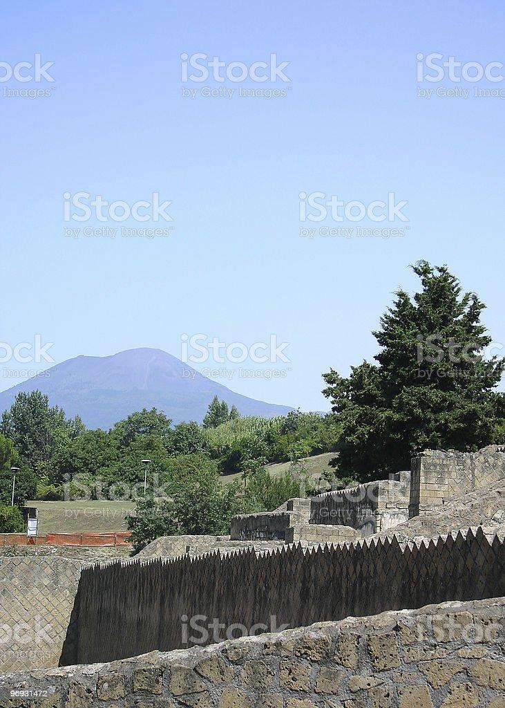 Ruins - mountain royalty-free stock photo