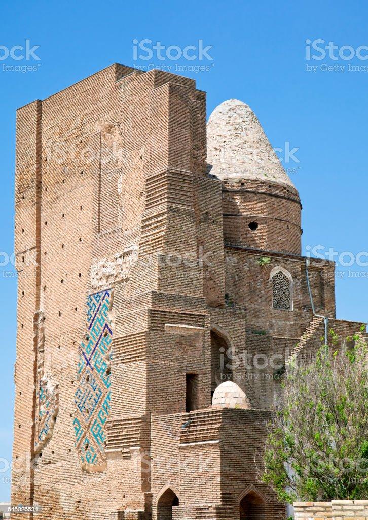 Ruins of Ak-Saray Palace, Shakhrisabz stock photo