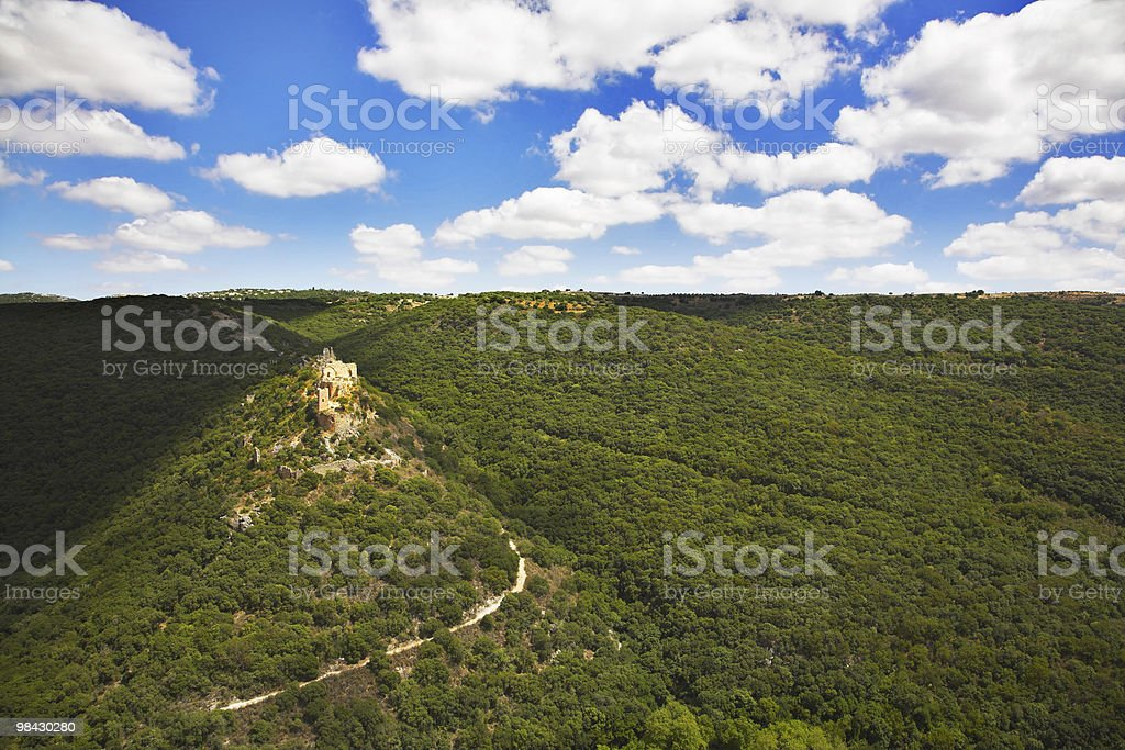 Ruins of an ancient fort royalty-free stock photo