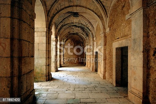 istock Ruins of an ancient monastery 517892420
