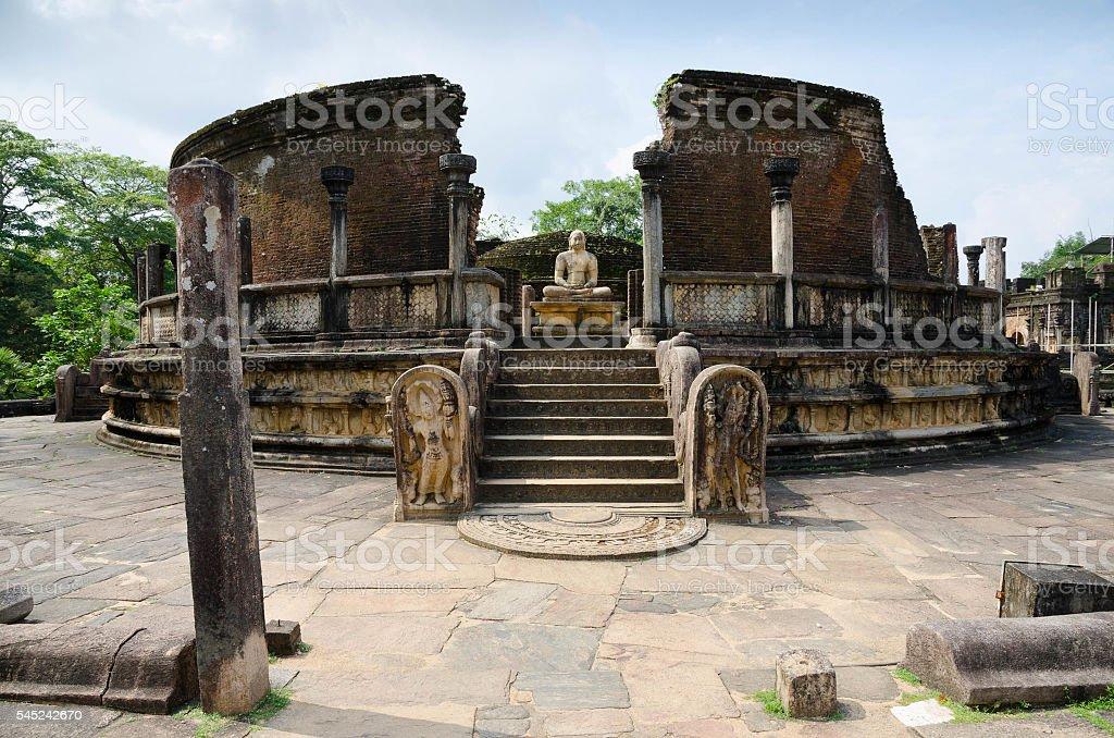 Ruines d'une ancienne temple - Photo