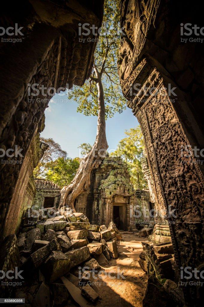 Ruines de l'antique Angkor Wat au Cambodge - Photo