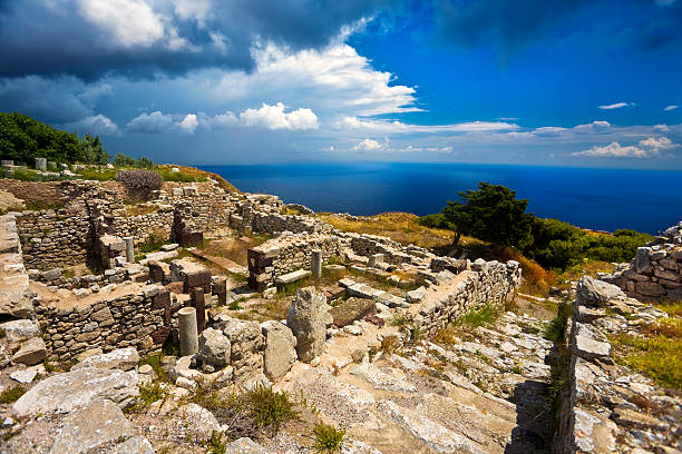 Ruinen des antiken Thera – Foto