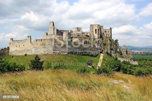 490314373 istock photo ruins of castle Beckov, Slovakia 491619906