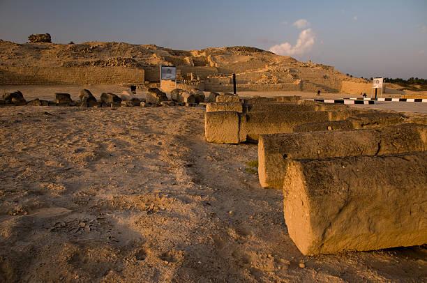 Ruins of citadella at Al Balid Ruins of citadella at Al Balid mahroch stock pictures, royalty-free photos & images