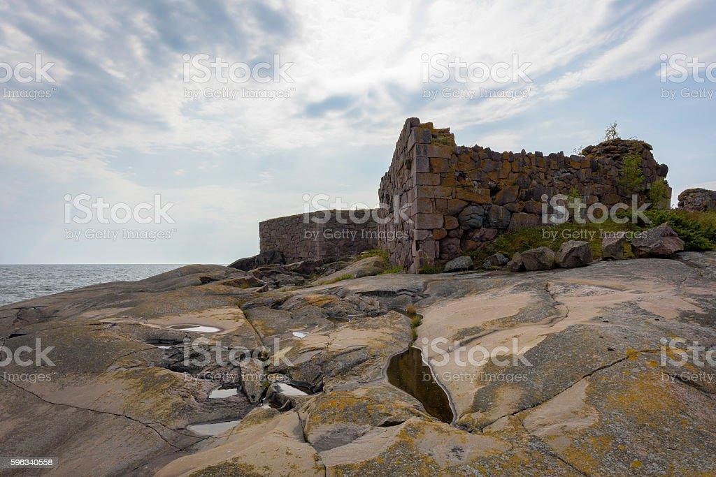 Ruinen der Festung Lizenzfreies stock-foto