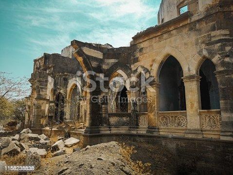 Ruins of Kalubha Bungalow, Bhavnagar.
