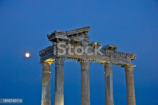 istock Ruins of old side city 1310742114