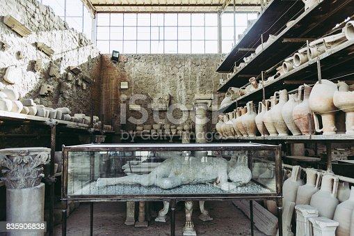 860524946 istock photo Ruins of Pompei, Naples, Italy. 835906838